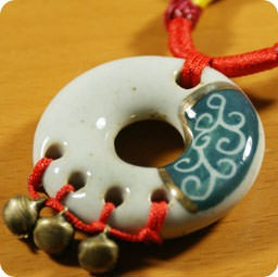 boutique-kawaii-shop-france-lille-chezfee-com-collier-bijoux--tradition-asiatique-ceramique-cercle