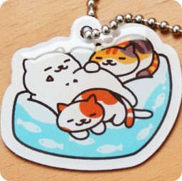 boutique-kawaii-shop-france-lille-chezfee-com-gachapon-capsule-japonais-authentique-cat-neko-atsume-charm-strap-dorment