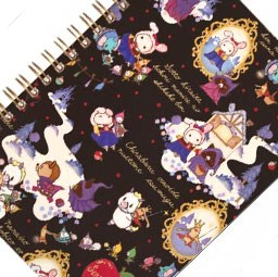 boutique-kawaii-shop-japonais-chezfee-sanx-officiel-carnet-sentimental-circus-snow-white