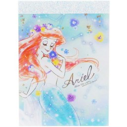 boutique-kawaii-shop-japonaise-disney-ariel-fleurs-papeterie-mini-memo-block-note-1