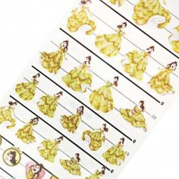 boutique-kawaii-shop-japonaise-disney-princesse-belle-papeterie-stiker-autocollant-made-in-japan-0