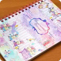boutique-papeterie-fourniture-kawaii-shop-en-ligne-chezfee-com-carnet-spiral-sentimental-circus-parade-ver1