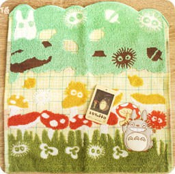 serviette-cotton-totoro-ghibli-officiel-authentique-boutique-kawaii-shop-chezfee-champignon