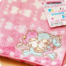 serviette-nappe-cotton-pochette-kawaii-sanrio-officiel-authentique-japonais-boutique-kawaii-shop-chezfee-com-little-twin-stars-licorne