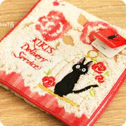 serviette-pochette-cotton-kiki-ghibli-officiel-authentique-boutique-kawaii-shop-chezfee-rose