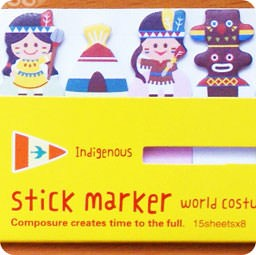 sticky-note-kawaii-costume-mignon-8en1-papeterie-magasin-chezfee-indigenous