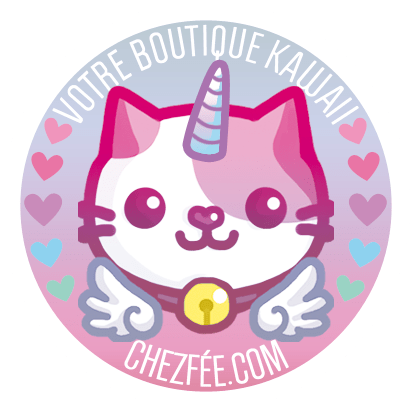 chezfee boutique kawaii shop cute france logo chat5 licorne