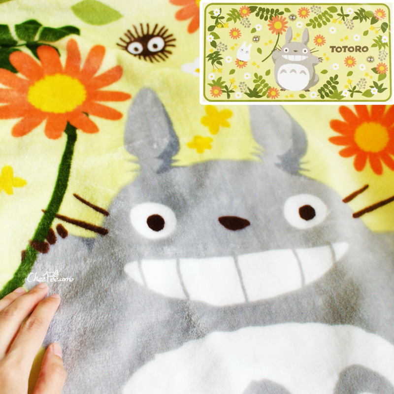 boutique kawaii shop france japanais couverture polaire studio ghibli officiel totoro printemps 1