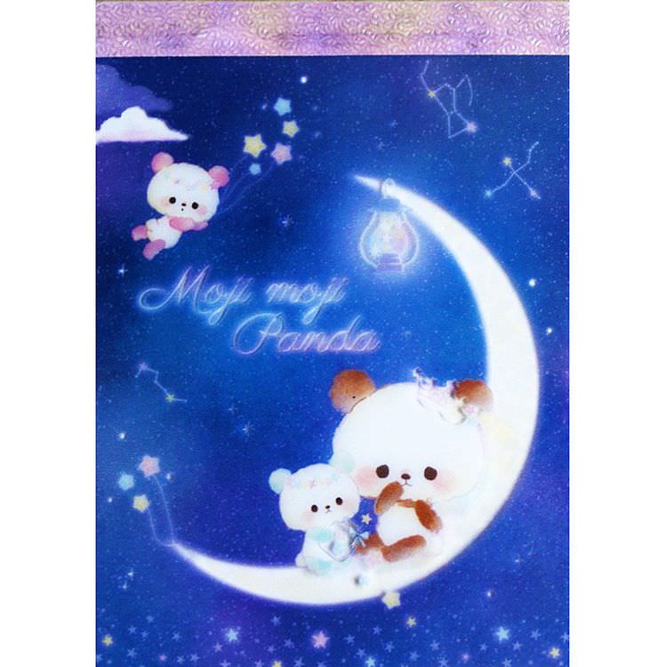 boutique kawaii shop papeterie chezfee kamio japan officiel mojimoji panda carnet memo lune 1