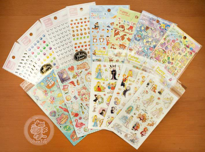 autocollant mignon sticker boutique kawaii shop chezfee com conte fee animaux