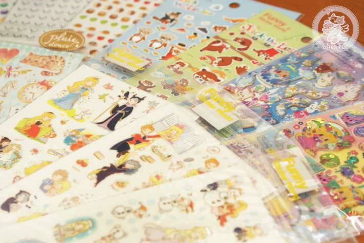 autocollant mignon sticker boutique kawaii shop chezfee com conte fee animaux2