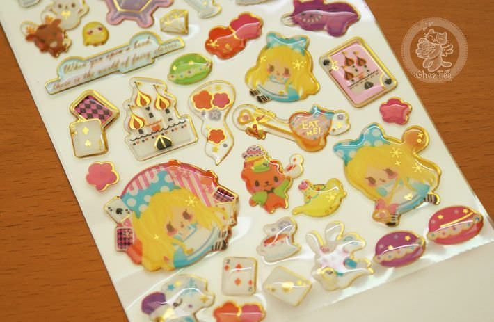 autocollant mignon sticker kawaii boutique chezfee com conte fee 3d reine neiges alice3