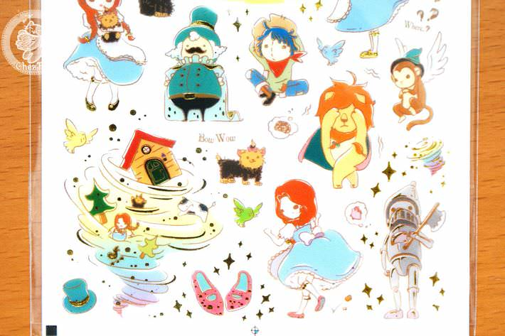 autocollant-mignon-funny-sticker-world-kawaii-mignon-conte-de-fee-le-magicien-oz-boutique-magasin-chezfee-com4