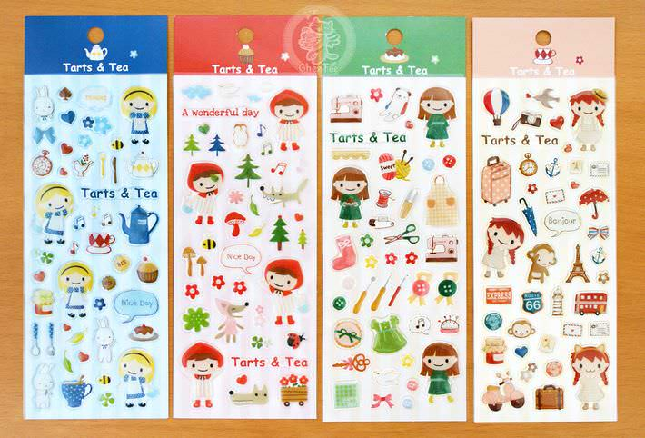 autocollant-kawaii-sticker3D-papeterie-en-ligne-fille-conte-fee1
