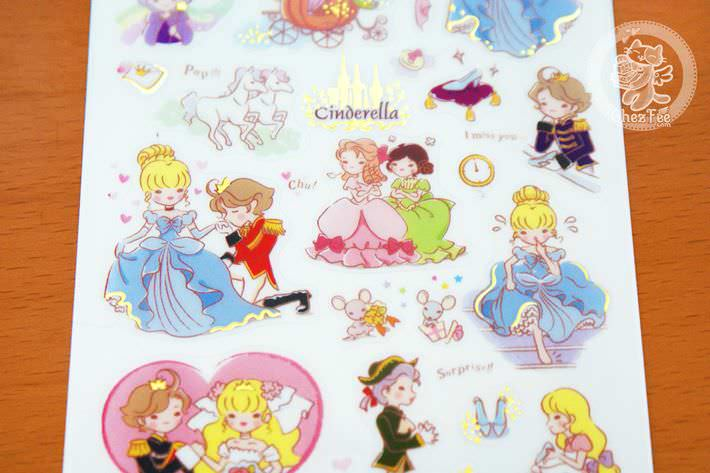 autocollant-sticker-kawaii-mignon-conte-de-fee-cinderella-chezfee-boutique-magasin3