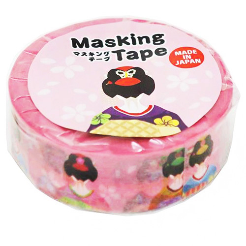 boutique kawaii shop chezfee stickers japonais masking washi tape kokeshi geisha kyoto 1