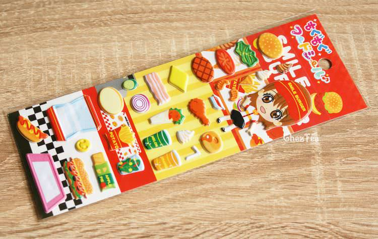 boutique kawaii shop france chezfee sticker japonais 3d restaurant fast food 1