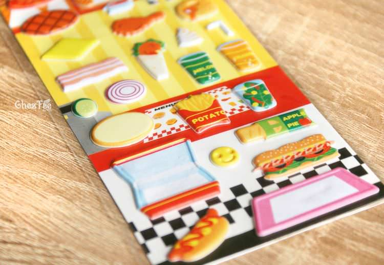 boutique kawaii shop france chezfee sticker japonais 3d restaurant fast food 3