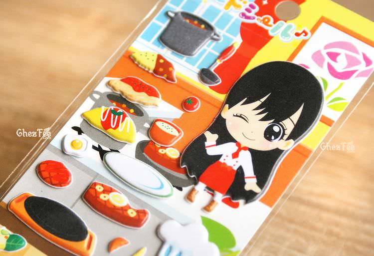 boutique kawaii shop france chezfee sticker japonais 3d restaurant japonais 2