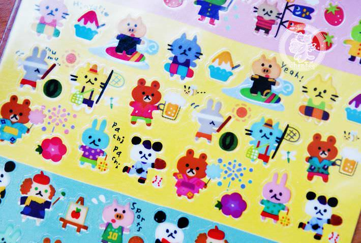 autocollant mignon sticker kawaii papeterie boutique kawaii chezfee com japon quatre seasons3