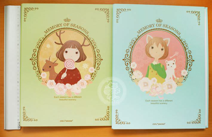 boutique kawaii shop en ligne chezfee com classeur mori girl foret nature mignon4