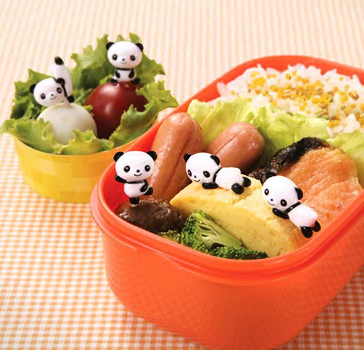 d corations maison set de 8 piques kawaii bento ap ritif panda. Black Bedroom Furniture Sets. Home Design Ideas
