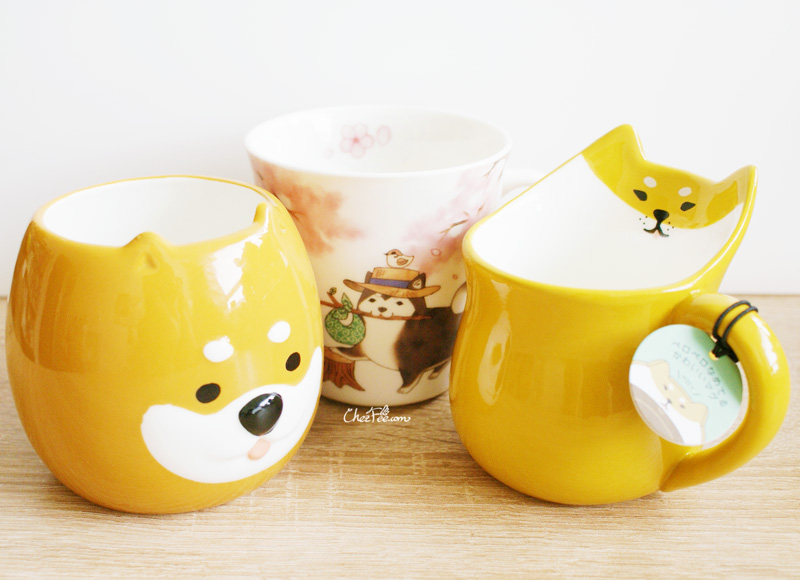 boutique kawaii shop chezfee mug tasse japonais decole shiba inu collection