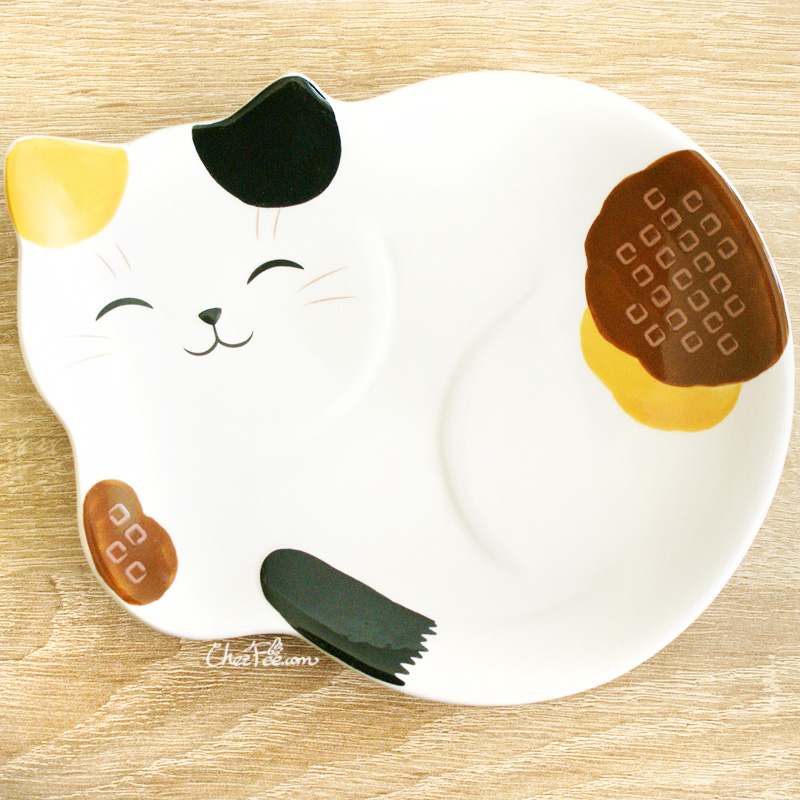 boutique kawaii shop chezfee assiette japonais yakushigama chat manekineko calico 1