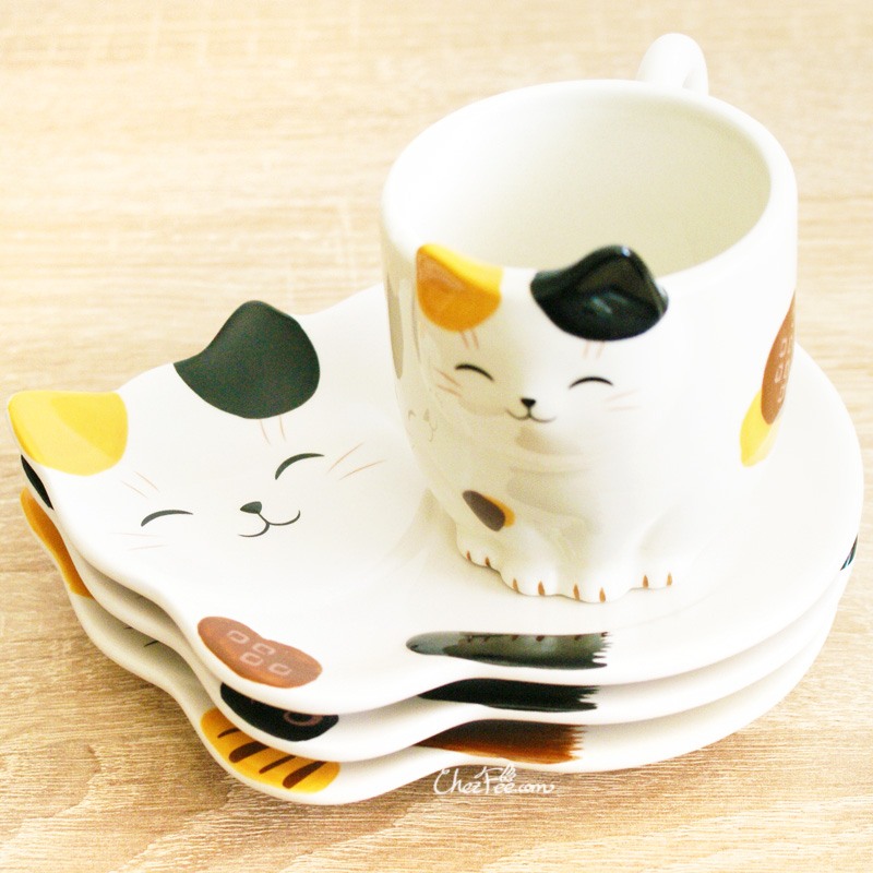 boutique kawaii shop chezfee mug tasse assiette japonais yakushigama chat manekineko 3