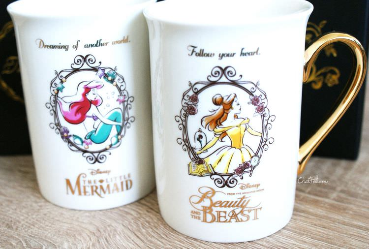 boutique kawaii shop chezfee cuisine disney japan ariel belle bete mug elegant 1