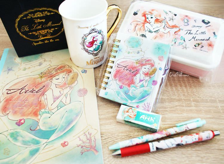 boutique kawaii shop chezfee france disney japan ariel mug bento papeterie 2