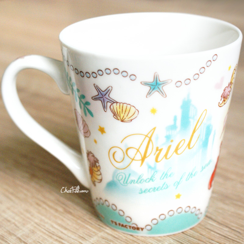 boutique kawaii shop chezfee disney japan ariel petite sirene mug amis 3