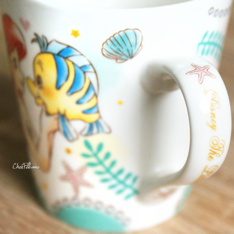 boutique kawaii shop chezfee disney japan ariel petite sirene mug amis 4