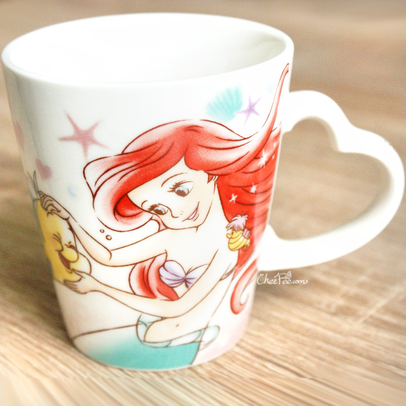 boutique kawaii shop chezfee disney japan ariel petite sirene mug amour 2
