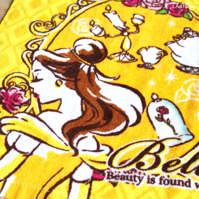boutique kawaii shop chezfee disney japan belle bete serviette towel 2