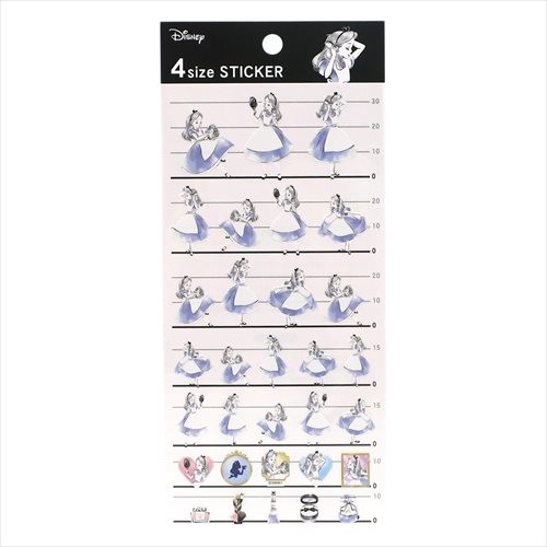 boutique kawaii shop disney japan chezfee sticker alice cosmetique amour 4tailles 1