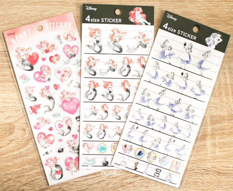boutique kawaii shop disney japan chezfee sticker cosmetique 1