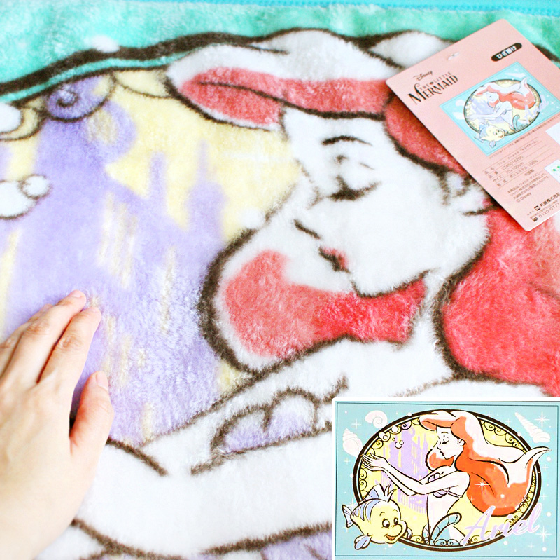 boutique kawaii shop chezfee france disney japan ariel sirene couverture polaire 5
