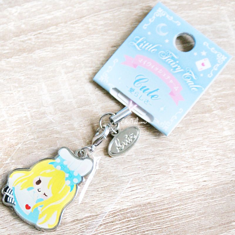 boutique kawaii shop chezfee disney japan charm strap alice wonderland pays merveilles chibi 1