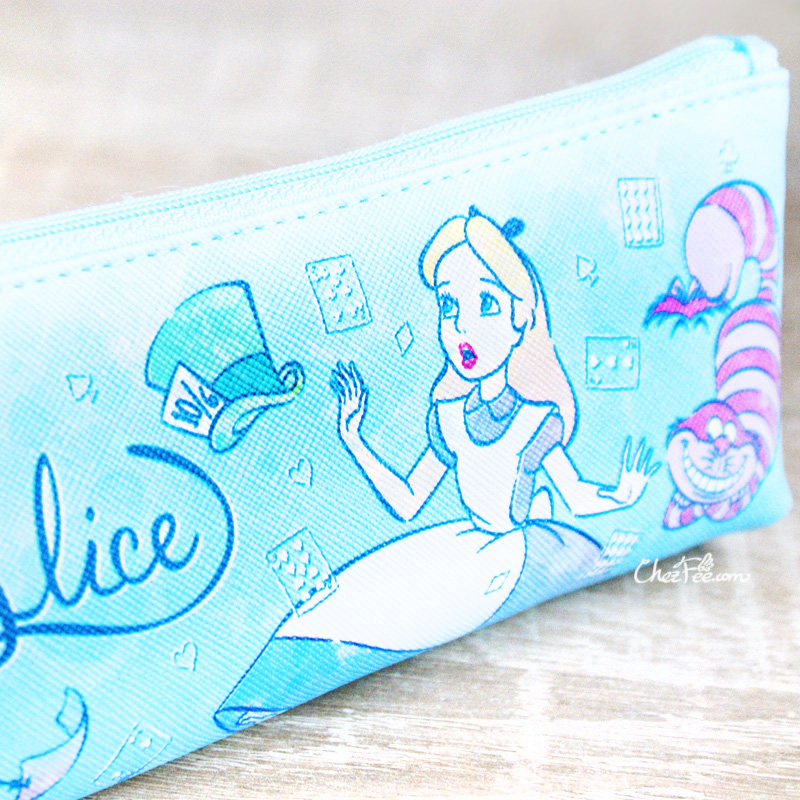 boutique kawaii shop chezfee disney japan papeterie trousse alice wonderland pays merveilles chechire 3
