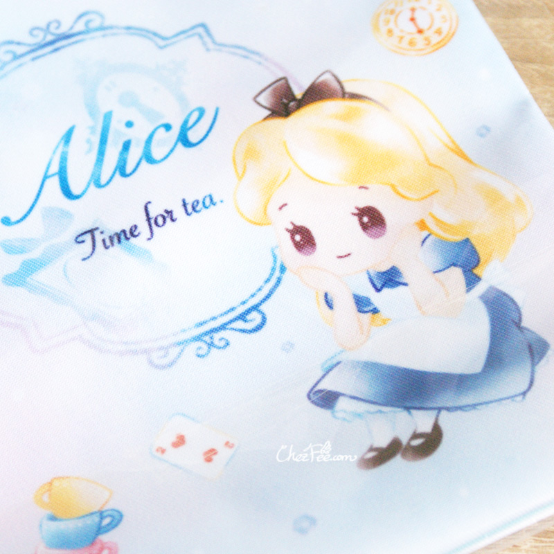 boutique kawaii shop chezfee disney japan pochon sac vrac alice wonderland pays merveilles chibi 4