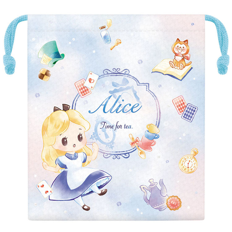 boutique kawaii shop chezfee disney japan pochon sac vrac alice wonderland pays merveilles chibi 6