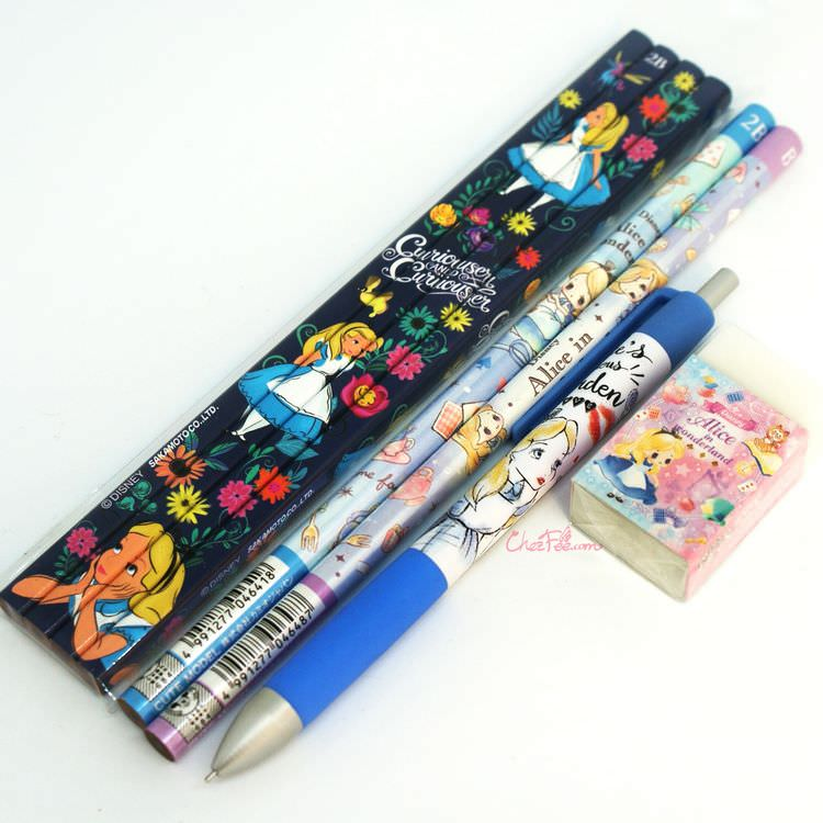 boutique kawaii shop france japonais chezfee disney japan alice wonderland crayons 1