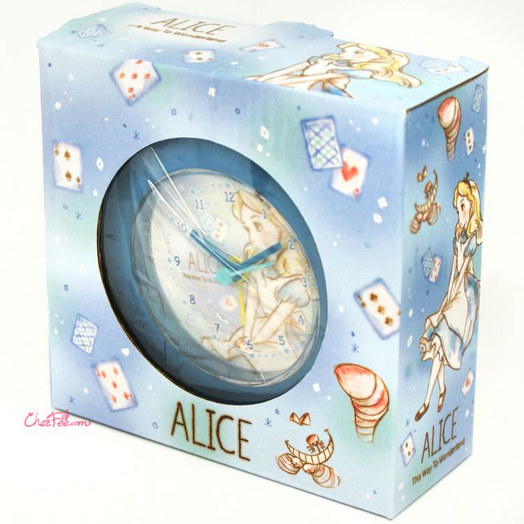 boutique kawaii shop france japonais chezfee disney japan alice wonderland horloge rond 6