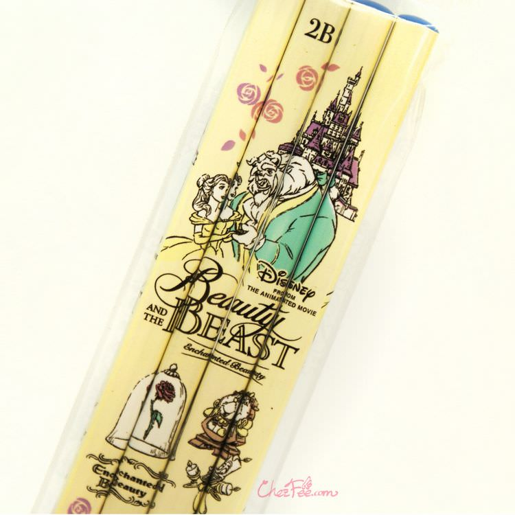 boutique kawaii shop france japonais chezfee disney japan belle crayons lot 2