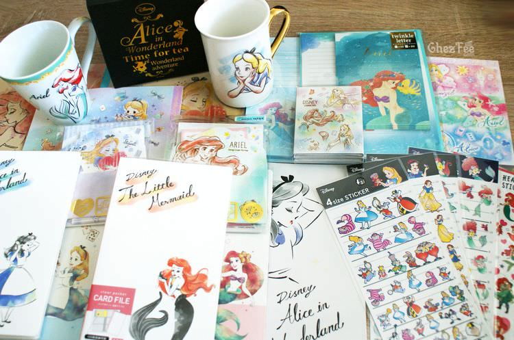 boutique kawaii shop chezfee disney japon papeterie ariel alice 2