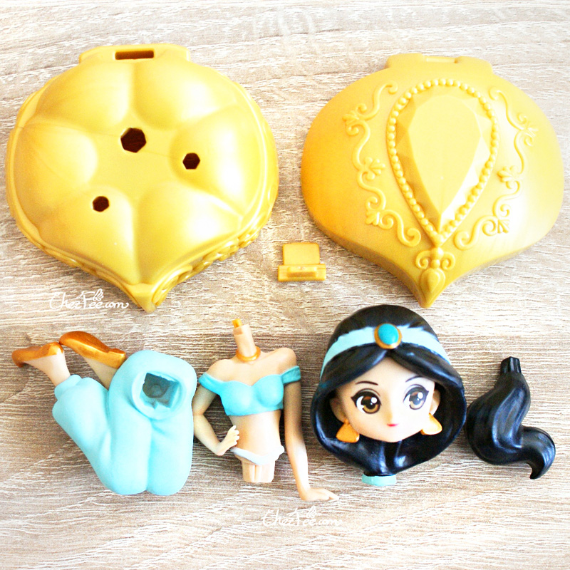 boutique kawaii shop chezfee gashapon figurine disney princesses posket heroine doll 3