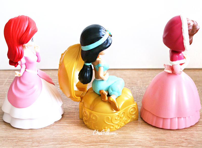 boutique kawaii shop chezfee gashapon figurine disney princesses posket heroine doll 6