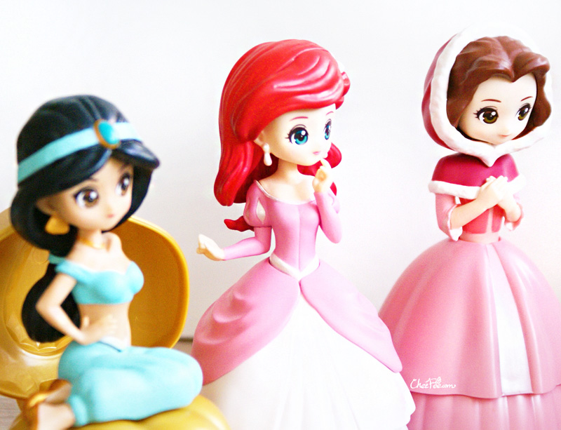 boutique kawaii shop chezfee gashapon figurine disney princesses posket heroine doll 8