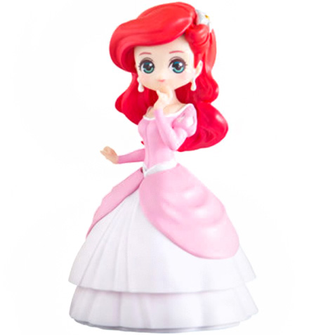 boutique kawaii shop chezfee gashapon figurine disney princesses posket heroine doll ariel 1